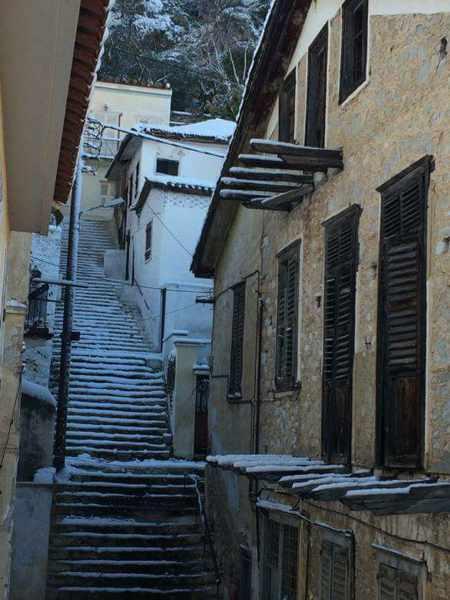 Snow in Nafplio