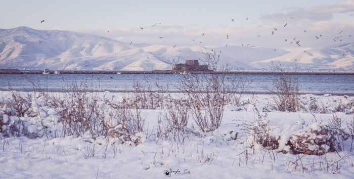 Snow at Nafplio
