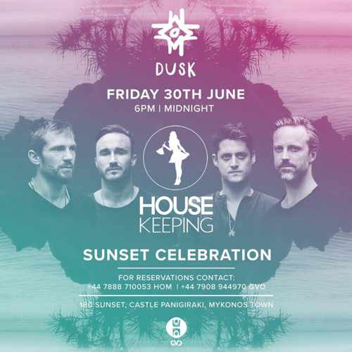 180 Sunset Bar Mykonos Friday party event