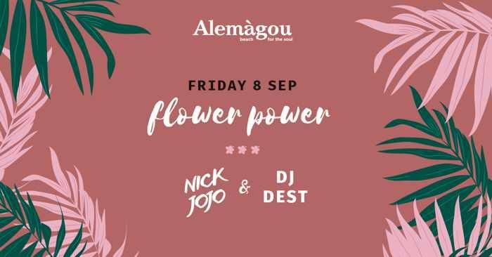 Alemagou beach club Mykonos  party event