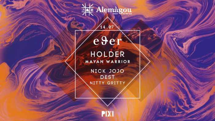 Alemagou beach club Mykonos party event