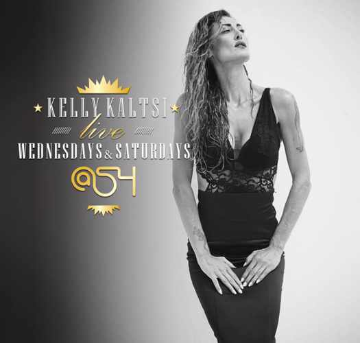 At54 club Mykonos presents singer Kelly Kaltsi