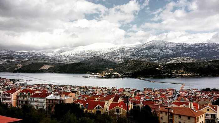 Argostoli village on Kefalonia photo by Babis Tzortzatos