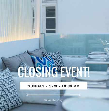 Bollicine Mykonos 2017 closing party