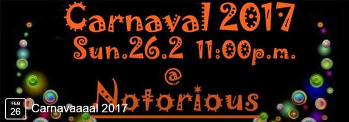 Notorious Bar Mykonos carnival party