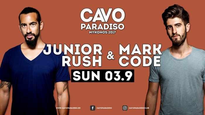 Cavo Paradise Mykonos party event