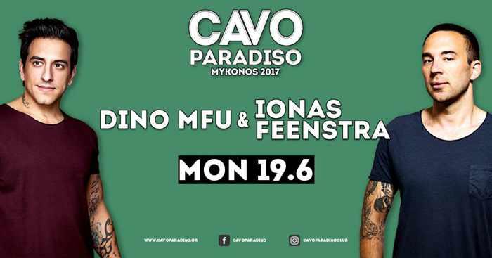 Cavo Paradiso Mykonos presents Dino MFU