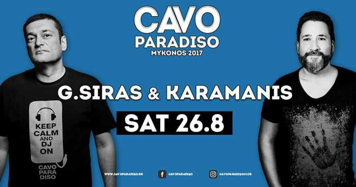 Cavo Paradiso  Mykonos part event