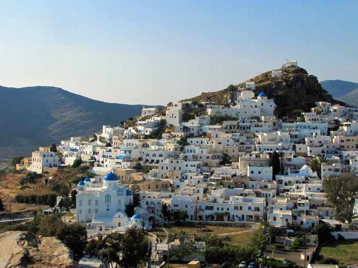 Chora village on Ios