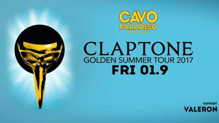 Cavo Paradiso Mykonos presents Claptone