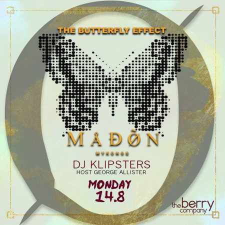 Madon club Mykonos party event