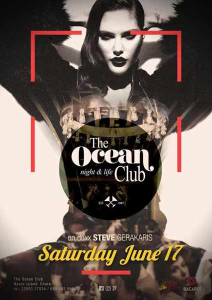 The Ocean Club Naxos party event