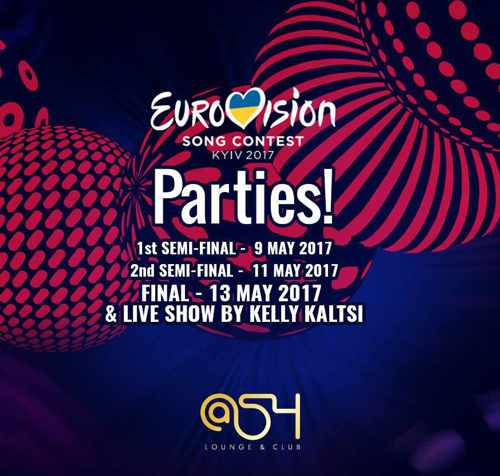 @54 club Mykonos Eurovision parties