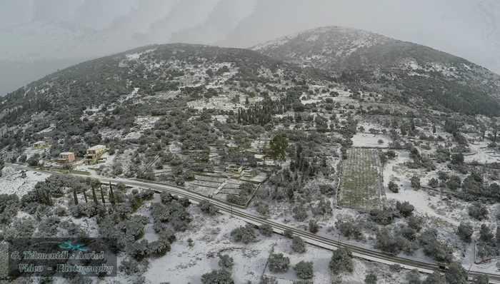 Faraklata village area on Kefalonia