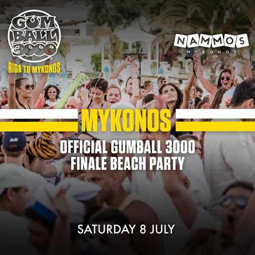 Nammos Mykonos party event