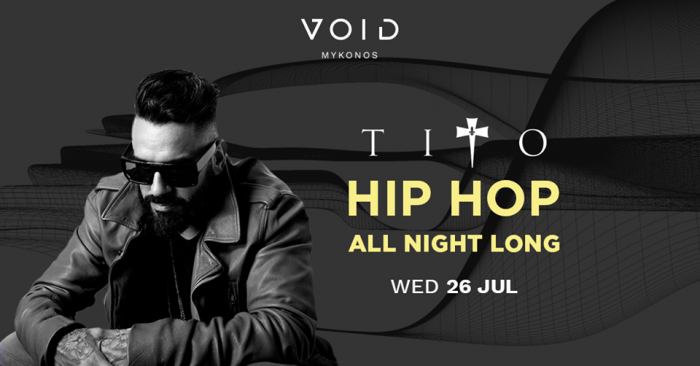 VOID club Mykonos hip hop party nights 2017