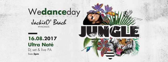 JackieO Beach club Mykonos Jungle party