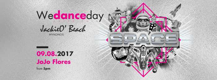 JackieO Beach club Mykonos Space party