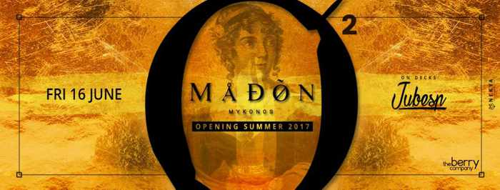 Madon club Mykonos party event