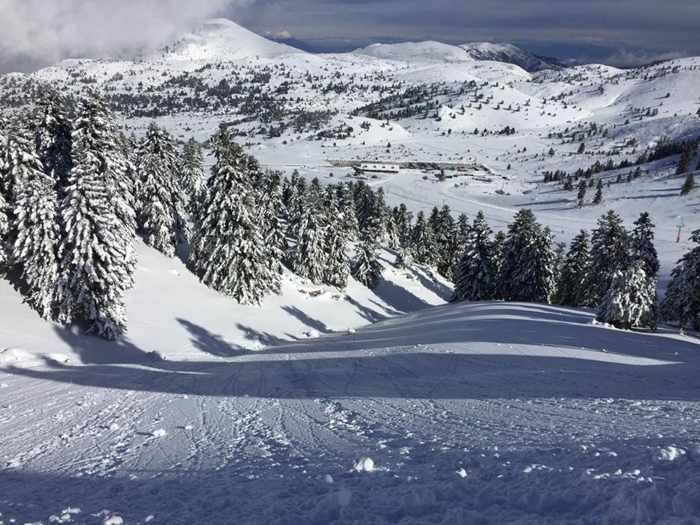 Kalavrita Ski Center Greece