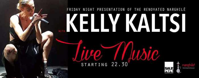 Narghile Bar Mykonos presents Kelly Kaltsi
