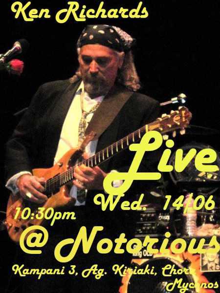 Notorious Bar Mykonos live music event