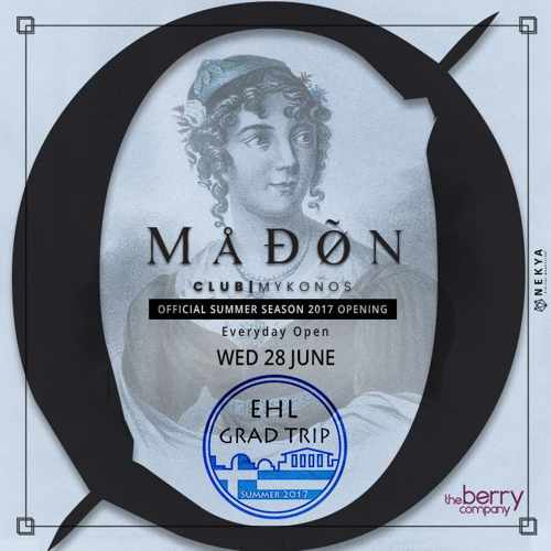 Madon club Mykonos party events