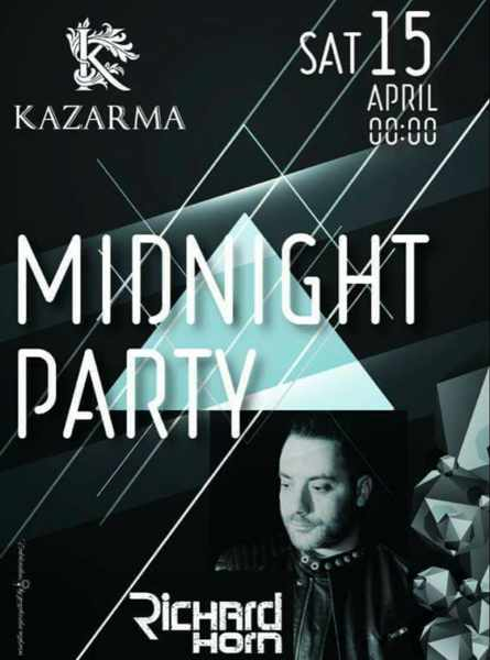 Kazarma Mykonos party event announcement