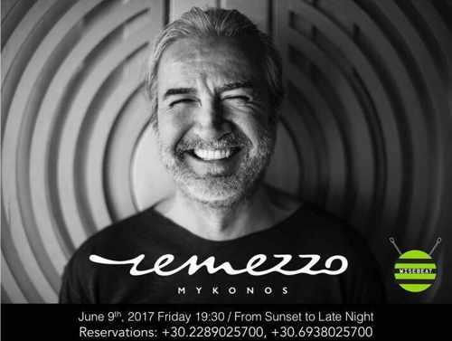 Remezzo Mykonos  party event