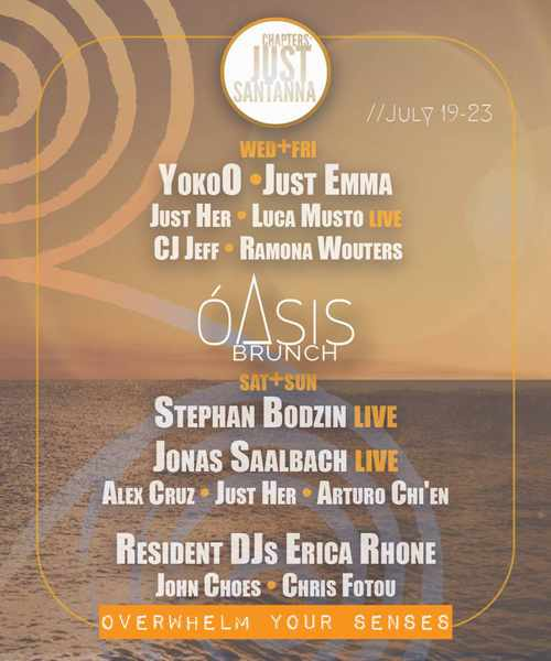 SantAnna Mykonos beach club party events
