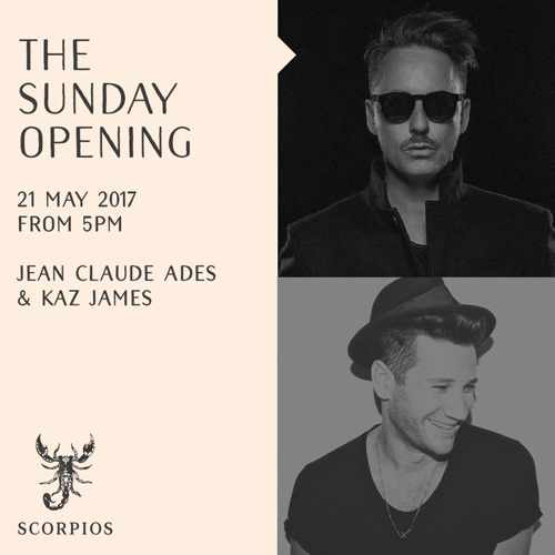 Scorpios Mykonos 2017 opening day DJ lineup