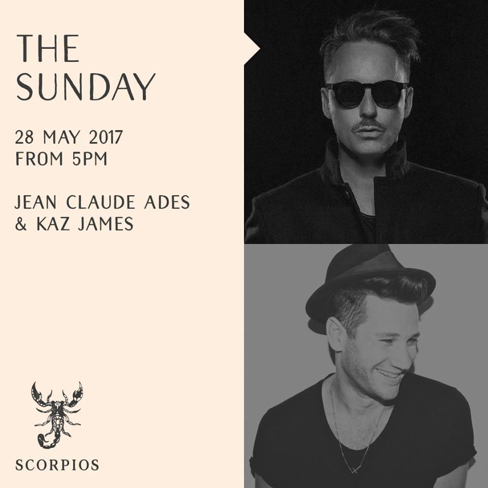 Scorpios Mykonos Sunday event May 28