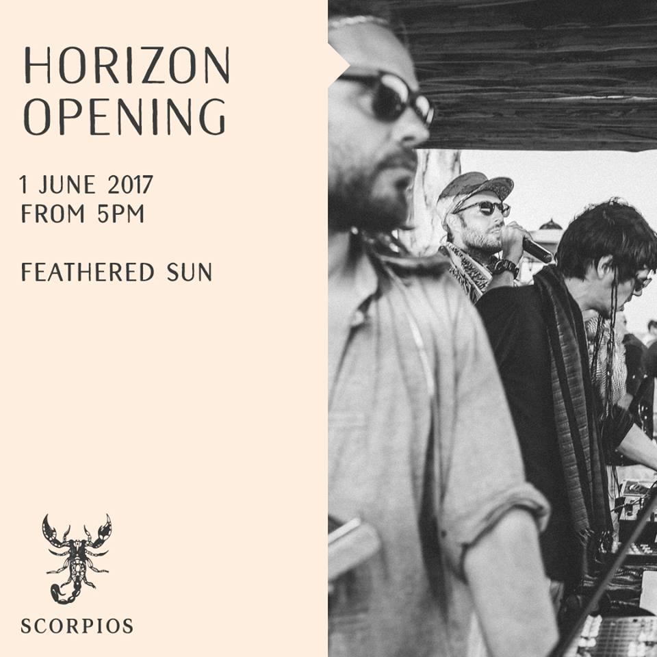 Scorpios Mykonos weekly Horizon event