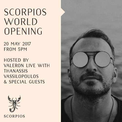 Scorpios Mykonos Saturday World event premiere 2017