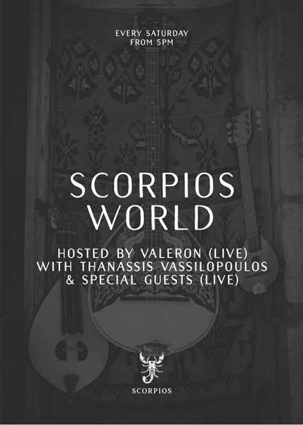 Scorpios club Mykonos party event