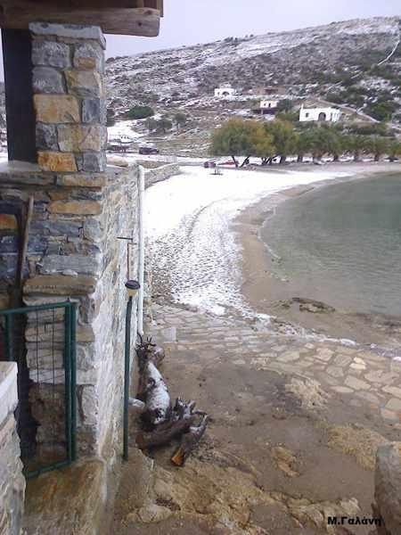 Panormos beach on Naxos