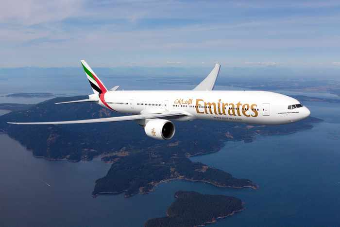 Emirates airline Boeing 777