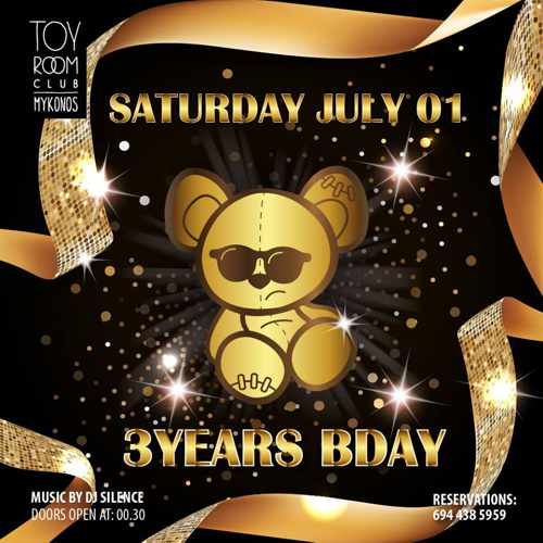 Toy Room Club Mykonos party event