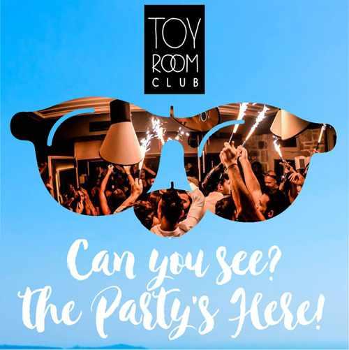 Toy Room Club Mykonos hip hop party