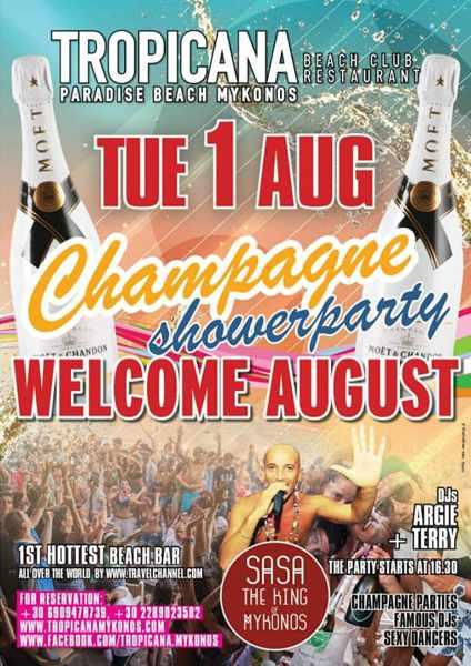 Tropicana beach club  party event