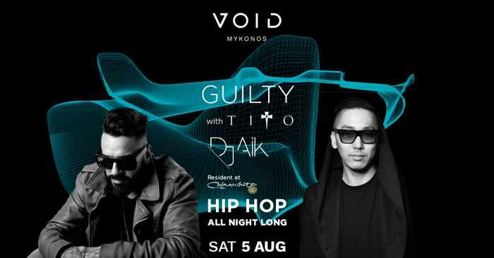 VOID club Mykonos Guilty party