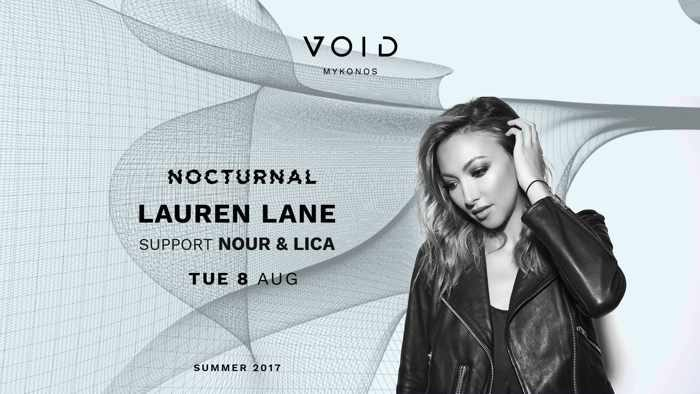 VOID club Mykonos presents Lauren Lane