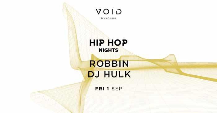 VOID club Mykonos hip hop party