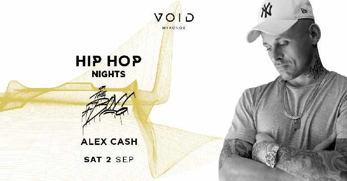 VOID club Mykonos  hip hop party