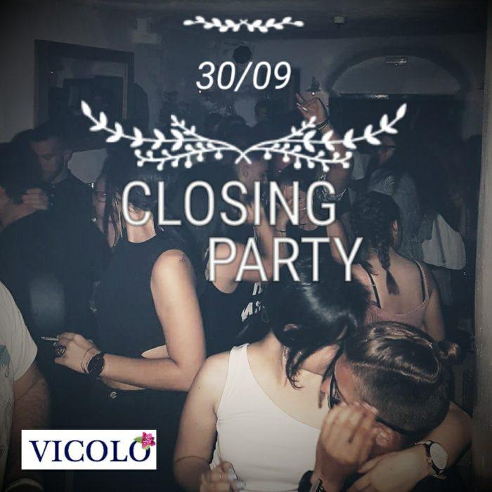 Vicolo bar Mykonos closing party