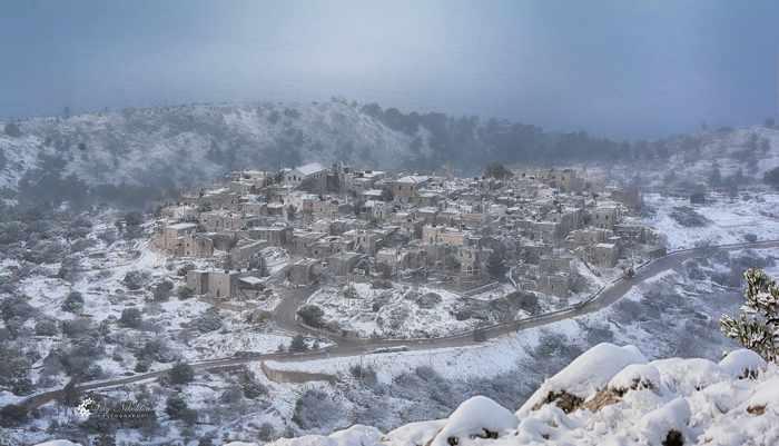 medieval village of Αυγώνυμα  on Chios