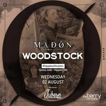 Madon Club Mykonos Woodstock party