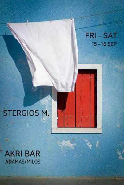 Akri Bar Milos party event