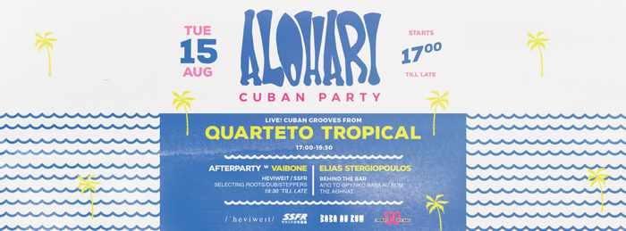Rochari Beach Tinos party event