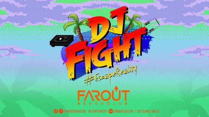 Far OUt Beach Club Io party event